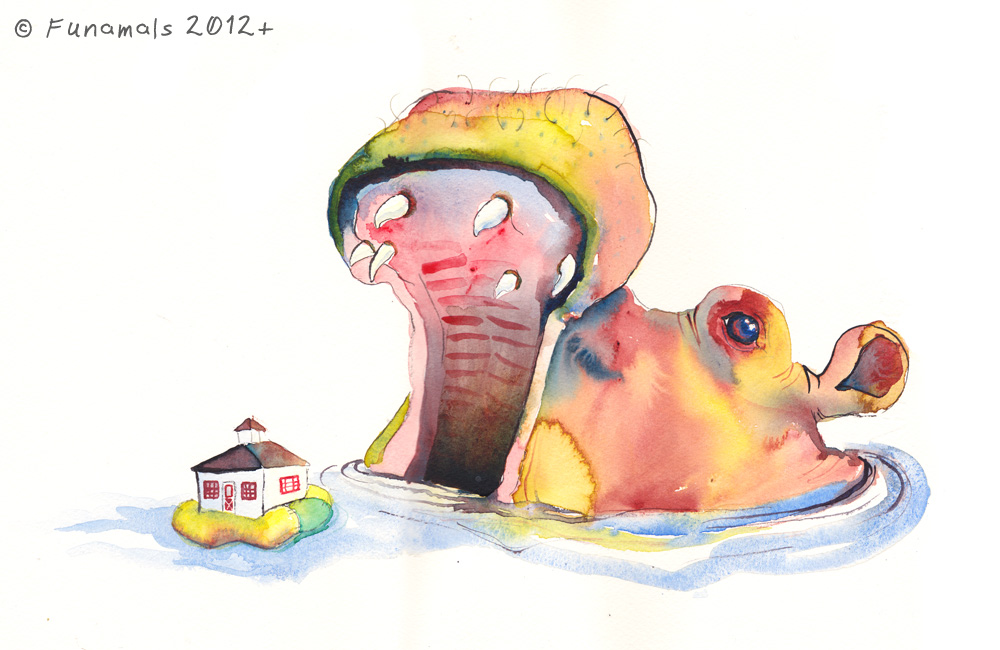 hippo-lunch